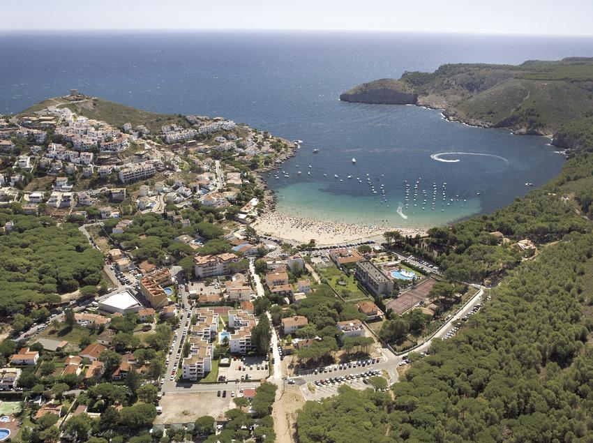 Vista de cala Montgó