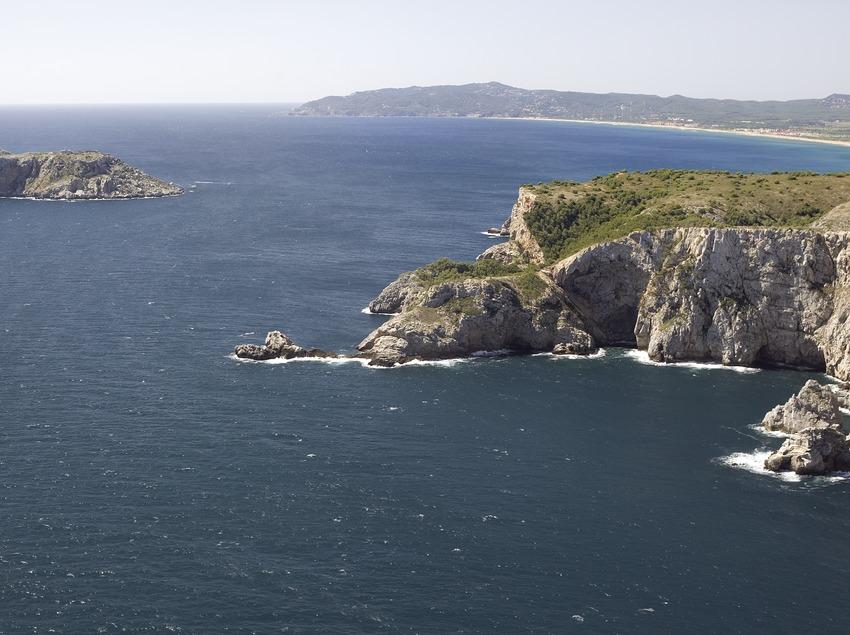 Les îles Medes vues de la Punta de la Sal.  (Miguel Angel Alvarez)