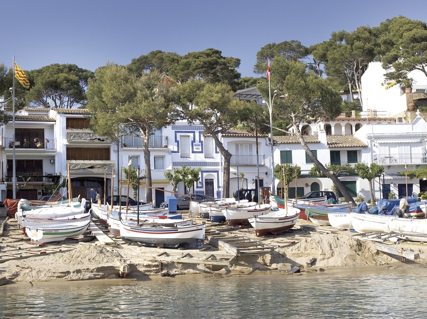 Playa de Llafranc.