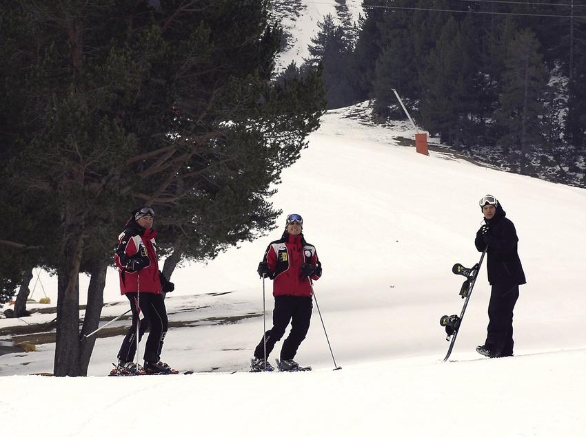 Esquiadors a l'estació d'esquí de La Molina.  (Chopo (Javier García-Diez))
