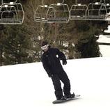 Snowboard en la estación de esquí de La Molina.