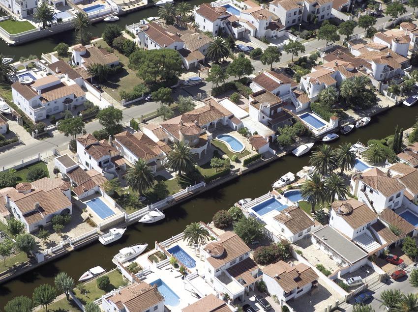 Vista aérea de la localidad