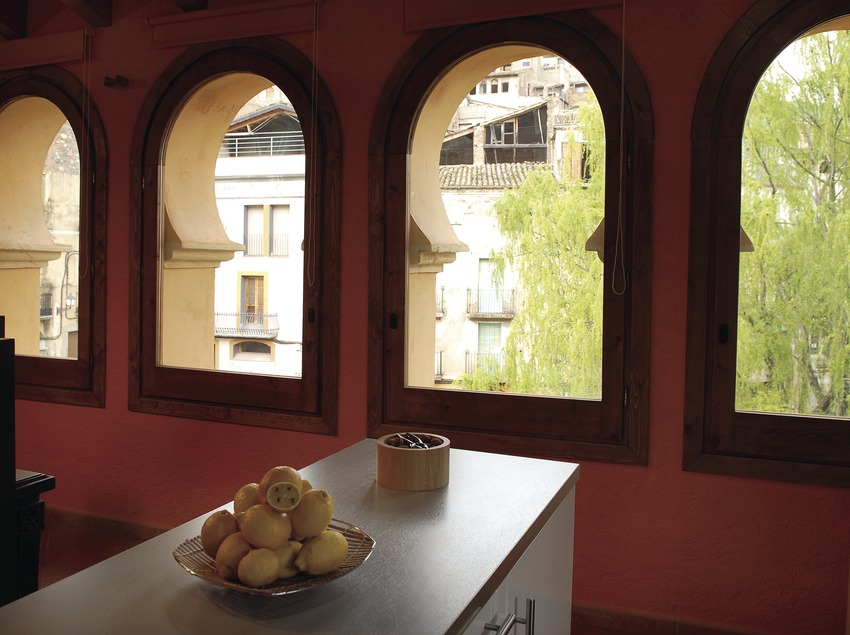 Spa-Hotel La Icona in Pont Vell, Porrera  (Tina Bagué)