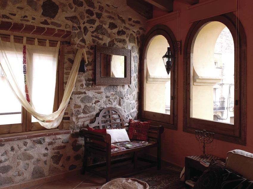 Interior de la casa rural La Icona del Pont Vell.  (Tina Bagué)