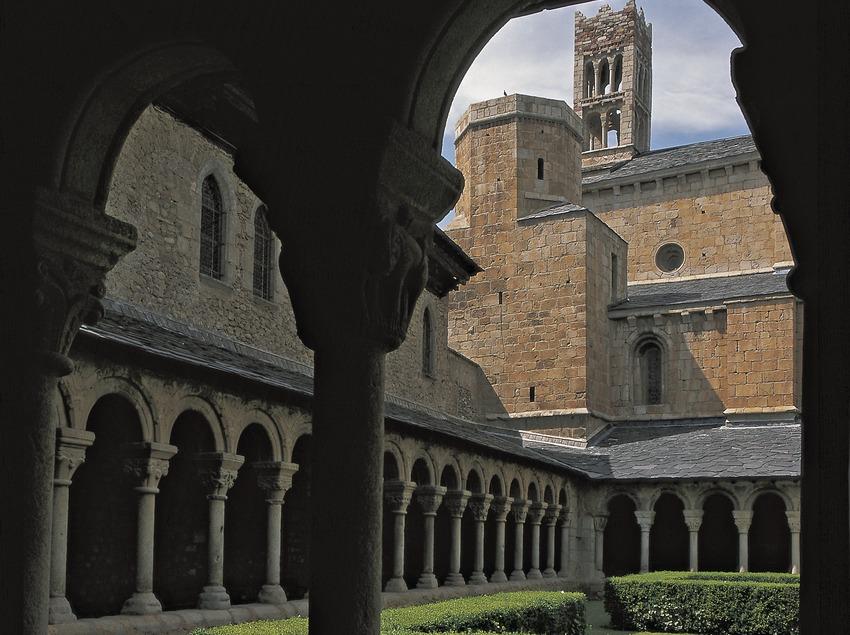 Claustro de la catedral de La Seu d'Urgell.