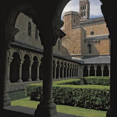Cloître de la cathédrale de La Seu d'Urgell.