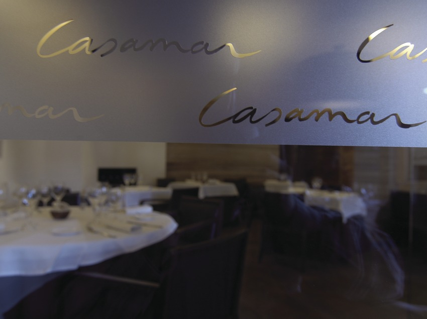 Comedor del restaurante Casamar, Llafranc.  (Chopo (Javier García-Diez))