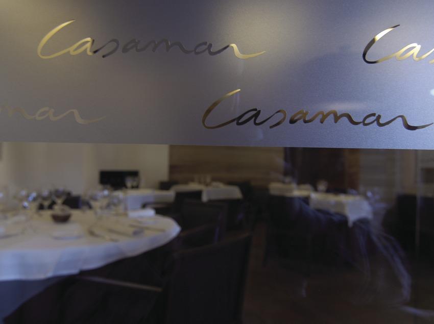 Menjador del restaurant Casamar, Llafranc.  (Chopo (Javier García-Diez))