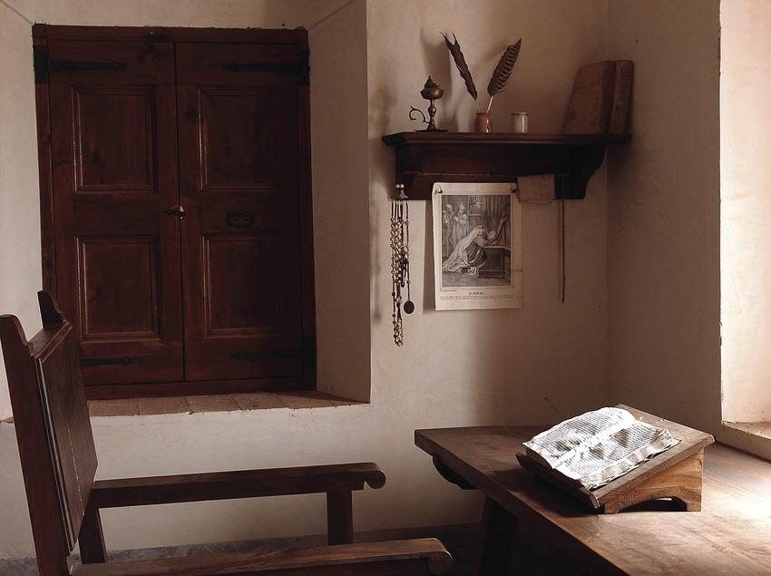 Habitació d'estudi, Cartoixa d'Scala Dei  (Tina Bagué)