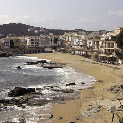 Platja de Canadell, Calella de Palafrugell.