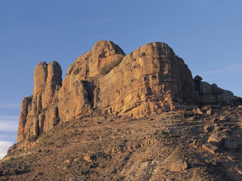 Roca de Santa.  (Francesc Muntada)