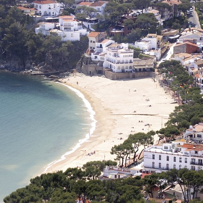 Playa de Llafranc 1.  (Miguel Angel Alvarez)