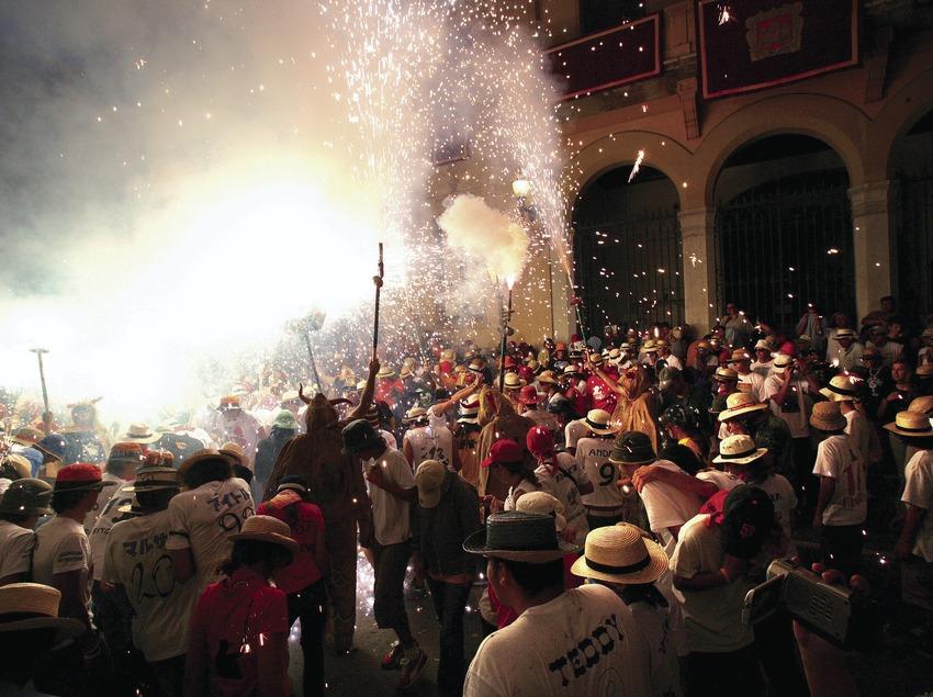 Correfoc en la Fiesta Mayor de Sitges 3.  (Miguel Angel Alvarez)