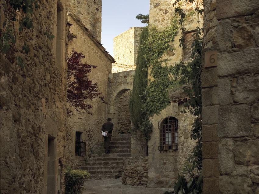 Carrer del nucli medieval.  (Miguel Angel Alvarez)