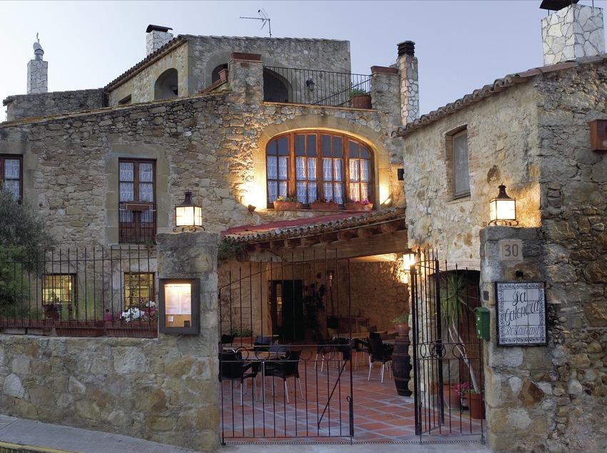 Restaurant al capvespre.  (Miguel Ángel Álvarez)