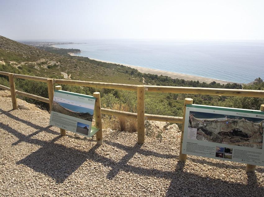 Aussichtspunkt von La Llenya