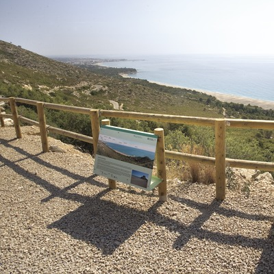 Mirador de la playa
