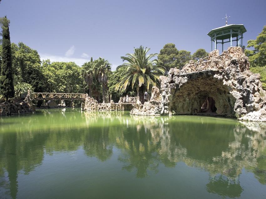 Estanque en el Parque Samà.  (Miguel Angel Alvarez)