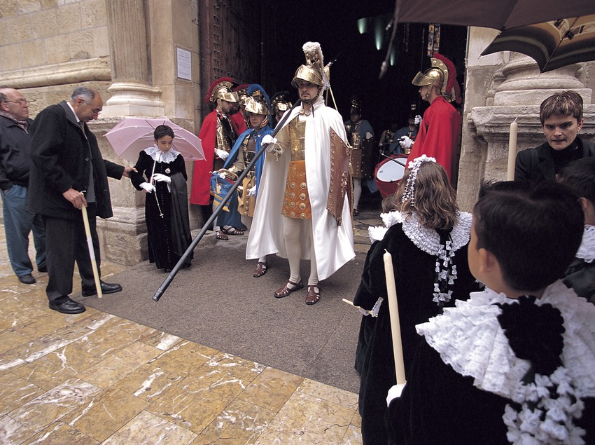 Processó de les Tres Gràcies a Reus.  (Rafael López-Monné)