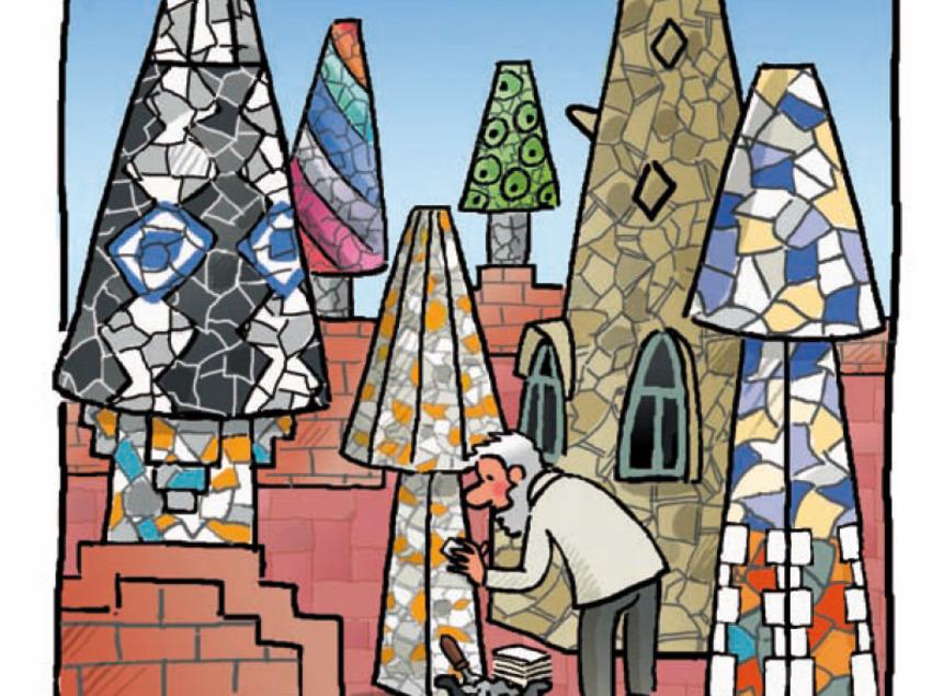 Il.lustració de Roser Capdevila per als Museus d'Esplugues