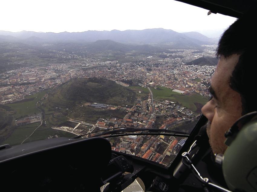 Vol sobre la ciutat.