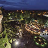 Vista aèria del Castell de Perelada