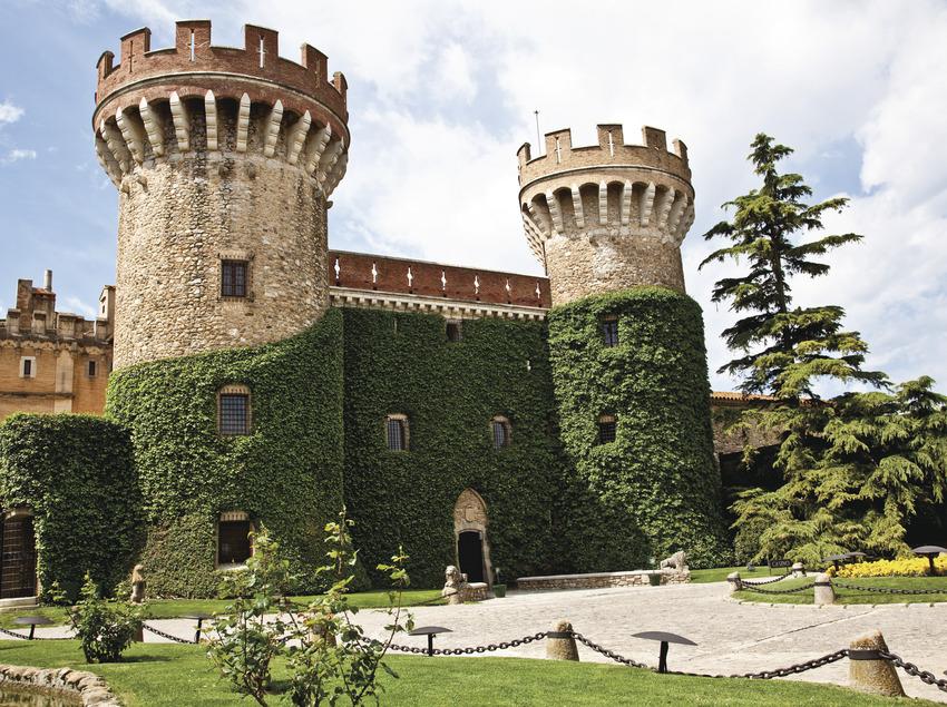 Fachada Castell de Perelada