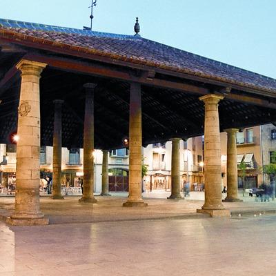 Granollers. Plaça de la Porxada (Consell Comarcal del Vallès Oriental)