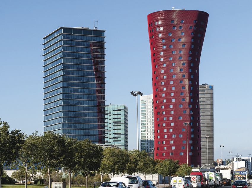 Hospitalet de Llobregat. Plaza Europa