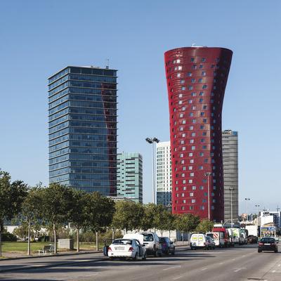 Hospitalet de Llobregat. Plaça Europa (Gonzalo Sanguinetti - Diputació de Barcelona)
