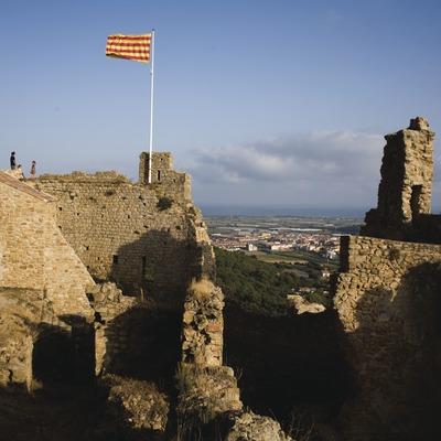 Castillo de Palafolls (Josep Cano. Diputació Barcelona)