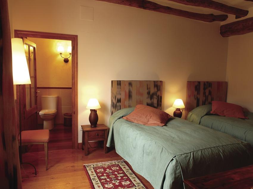 Habitació doble de l'hotel Catacurian  (Tina Bagué)