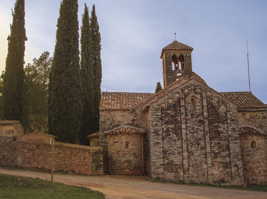 Montmajor. Iglesia románica de Sant Sebastià (Agència Desenvolupament del Berguedà)