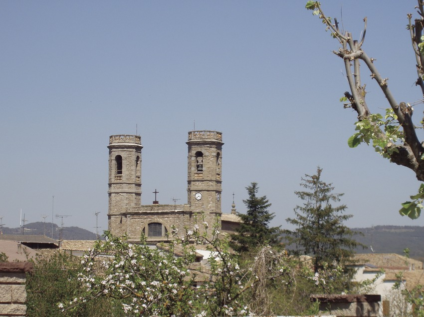 Església de Santa Maria. Olost (Osona Turisme)