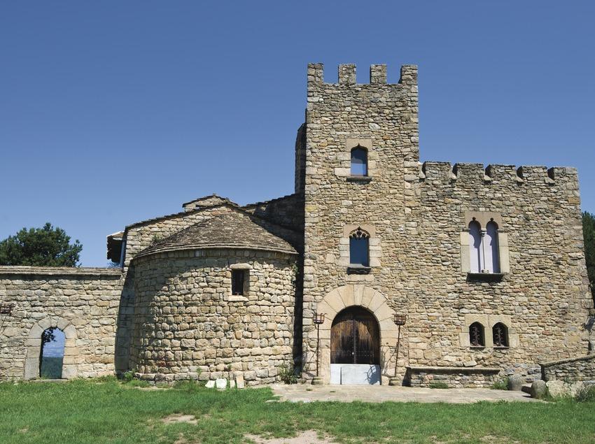 Vilanova de Sau. Sant Llorenç (Josep Cano. Diputació de Barcelona)
