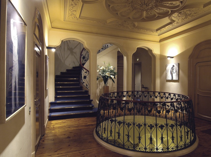 Interior del hotel Torre del Remei  (Chopo (Javier García-Diez))