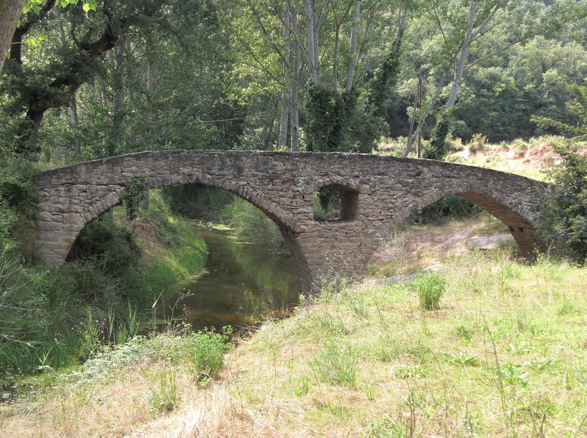 Sant Martí d'Albars. Puente románico (Osona Turisme)