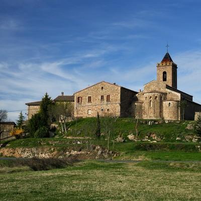 Sagàs. Sant Andreu (Rafel López. Agència Desenvolupament Berguedà)