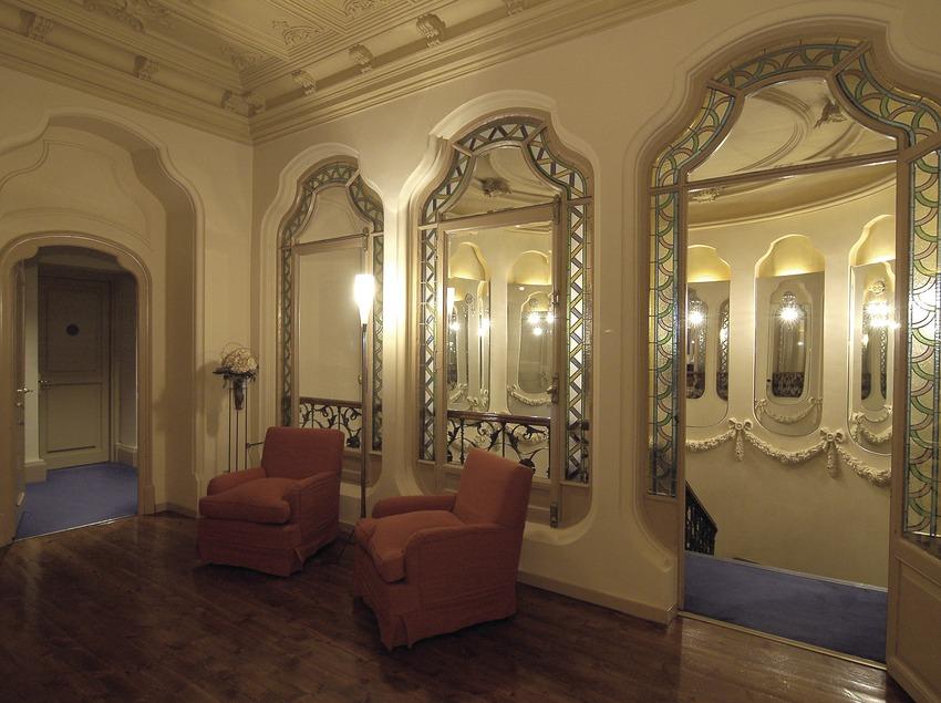 Salón del hotel Torre del Remei  (Chopo (Javier García-Diez))