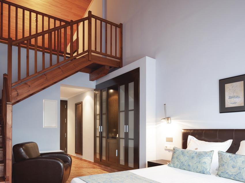 Habitació doble de l'Hotel Vall d'en Bas