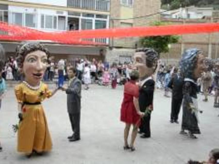 Fiesta en el barrio del Ninot.