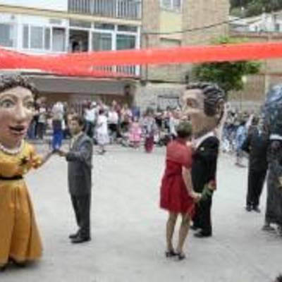 Festa al barri del Ninot.