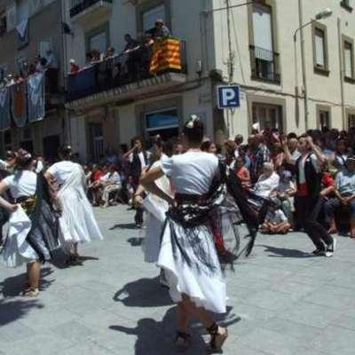 Detalle del Baile de Gitanas.
