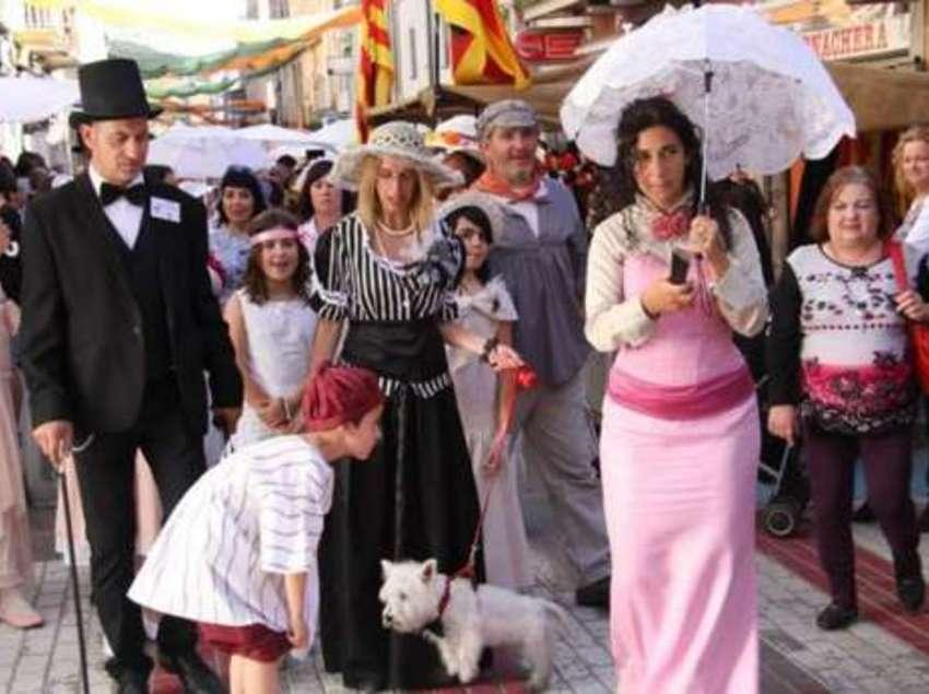 Detalle de la Fiesta del Vapor.