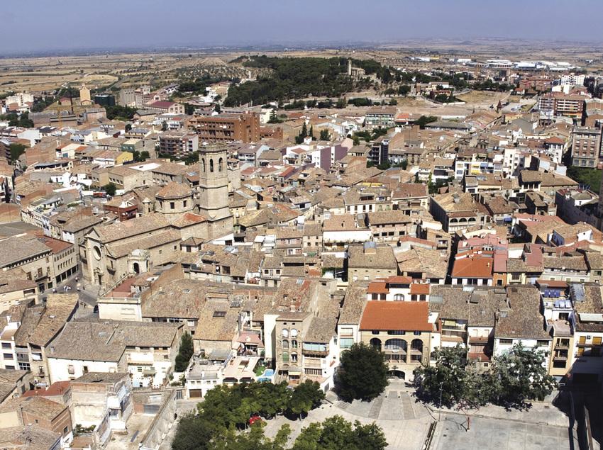 Vista general de la ciutat.
