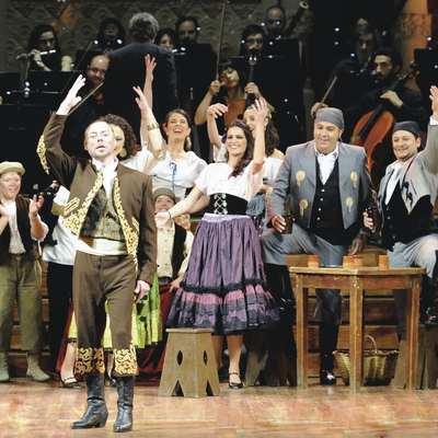 Representació de l'ópera Carmen de Bizet