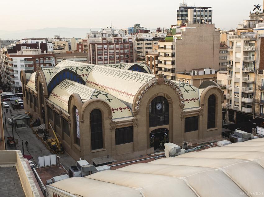 Vista general del Mercat Central de Tarragona.