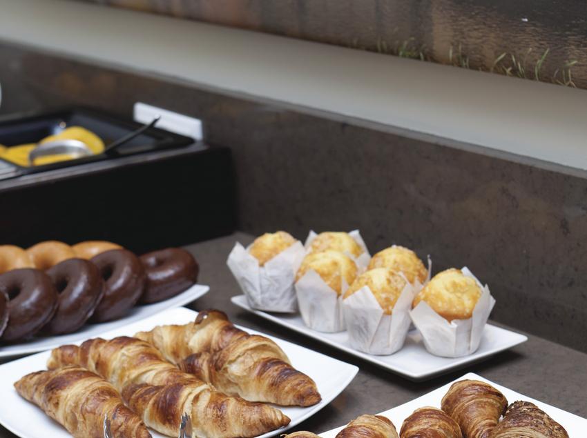 Expositors de dolços per a l'esmorzar