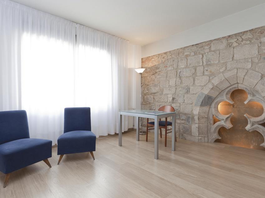 Habitación doble superior con sala de estar y estudio