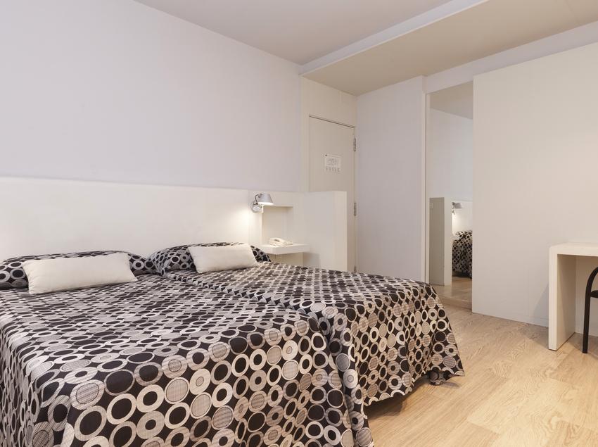 Habitación twin, dos habitaciones dobles comunicadas